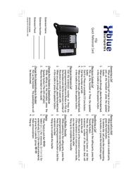 XBLUE Networks 45P-308-PKG Leaflet