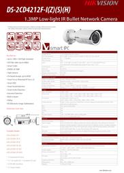Hikvision Digital Technology DS-2CD4212F-IZS Leaflet