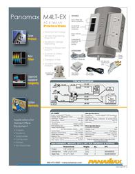 Panamax M4LT-EX Leaflet
