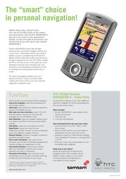 Qtek P3300 NL HTC092810 Leaflet