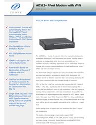 Zhone 6218-I2-200 Leaflet