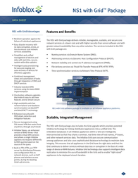 Infoblox IB 1550-A Grid Upgrade for NS1 IB-1550-A-GRID-UPG Data Sheet