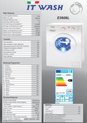ITWASH E3608L Leaflet