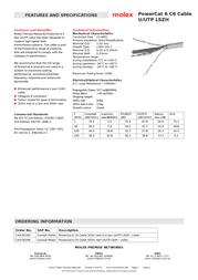 Molex CAA-00305 Leaflet