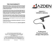 Azden SGMPDII Leaflet