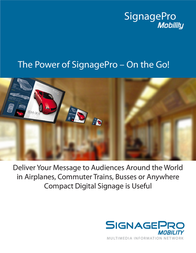 Smart-AVI Signage Pro Mobility AP-SNCL-M4GS User Manual