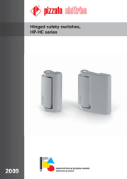 Pizzato Elettrica HC LL Hingesswitches Series PALLADIO Joint hinges without short switch contacts. - HC LL Data Sheet