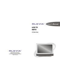 Olevia 237T User Manual