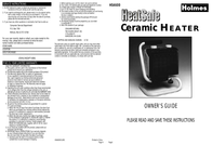 Holmes HS4600 User Manual