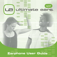 Ultimate Ears Earphone User Manual
