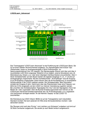 Ikh Lehrsysteme 100102 Training Device LOGO! Learn Advanced 100102 Data Sheet