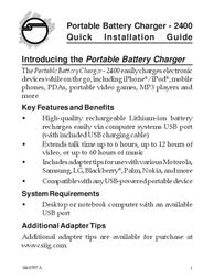 Siig 2400 User Manual