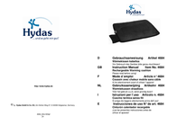 Hydas Rechargeable Portable Heat Cushion 4684 User Manual