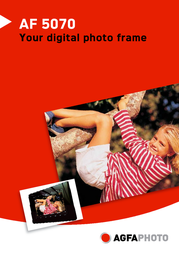 Sagem Digital Photo Frame AF5070 Leaflet