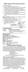 Sima MZM-1 Leaflet