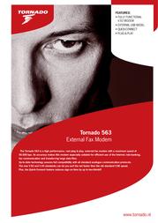 Allied Telesis Tornado 563 TOR-563EU40V9211-01 Leaflet