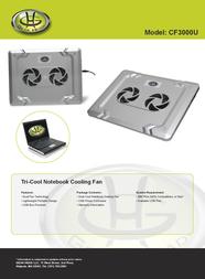 Gear Head CF3000U Leaflet