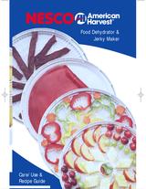 Nesco Food Dehydrator Manual