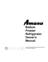 Amana Ice Maker IA 52204-0001 User Manual