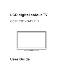 Cello C32E69DVB User Manual