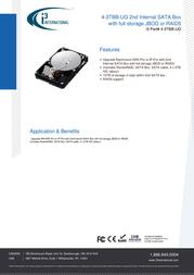 i3 International 4-3TBB-UG Data Sheet