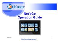 Kaser Netsgo Yf730a-8g 8 Gb Tablet YF730A8G User Manual