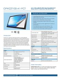 AIS OFW22T100-A1-PCT Leaflet