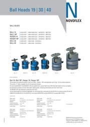 Novoflex NEIGER 19P Leaflet