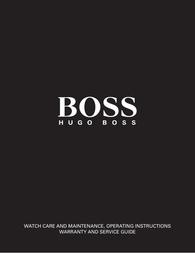 Hugo Boss 1512323 User Guide