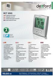 Dexford RCT 200 Leaflet