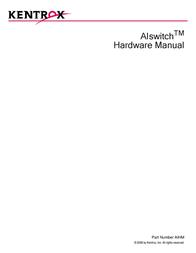 Kentrox AISWITCH AIHM User Manual