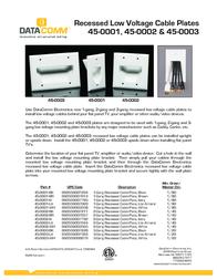 Data Comm 45-0002-LA Leaflet