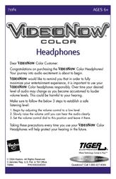 Hasbro Video Now 73984 Leaflet