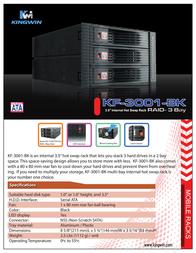 Kingwin KF-3001-BK Leaflet