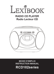Lexibook Blue RCD102DES Data Sheet