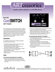 ART coolswitch Specification Guide