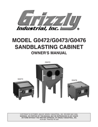 Grizzly G0473 User Manual