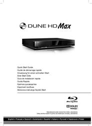 HDI Dune HD MAX User Manual