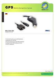 Navilock Anschlusskabel DELL AXIM X50 61379 Leaflet