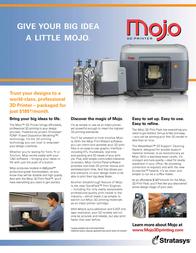 Stratasys Mojo MOJO Leaflet