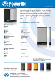 PowerOn HT-18A CASE-USB218-20SI Leaflet