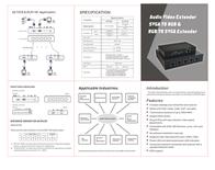 Power Communication Tech DLT53S+DLR13S Leaflet