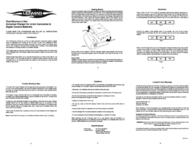 Lenmar BCLC1X2 Lithium-Ion Charger BCLC1X2 Leaflet