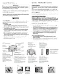 Nintendo WaveBird 1610966 Leaflet