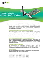 Getnet GN-531I Leaflet