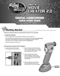 Digital Blue digital movie creator 2.0 Quick Setup Guide