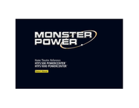 Monster Power MP HTFS 500 Video Surge Protector 109415 User Manual