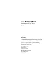 Maxtor 541DX 2B010H1 User Manual