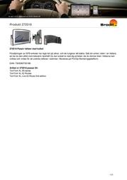 Brodit Passive Holder,Tilt Swivel 272018 Leaflet