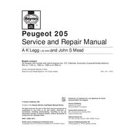 Peugeot 205 User Manual